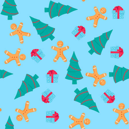 A Christmas cartoon character Фото со стока - 158018635