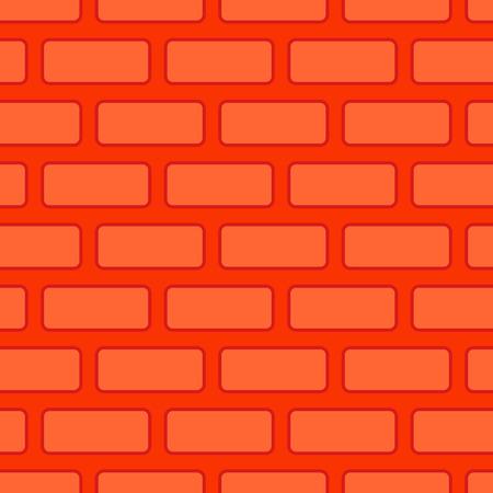 concrete block: Brick wall seamless texture. Red Bricks Background