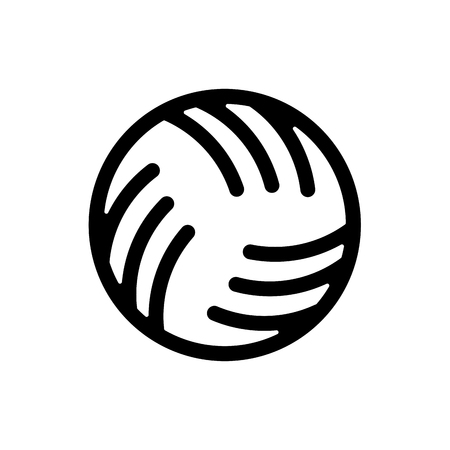 Ball water polo sign. 矢量图像