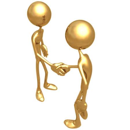 pacto: Handshake 02 Foto de archivo