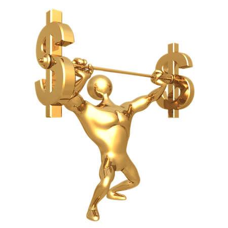Weightlifting Dollar