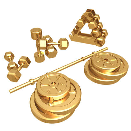 Gilded Weights