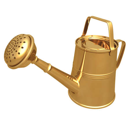 Gilded Water Can
