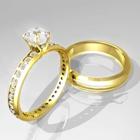 Wedding Rings Stock Photo - 342370