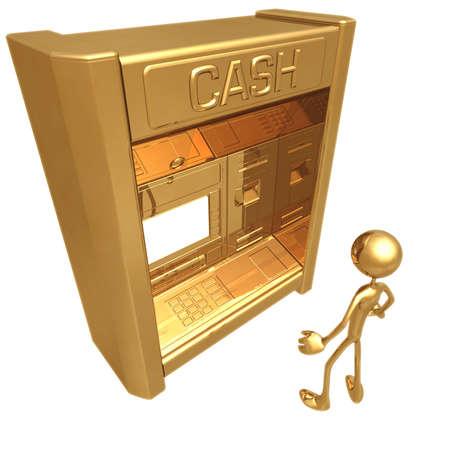 Giant ATM Stok Fotoğraf