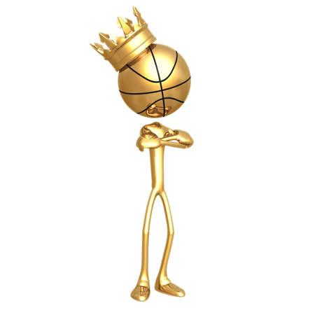 Basketball King Stock Photo - 502123