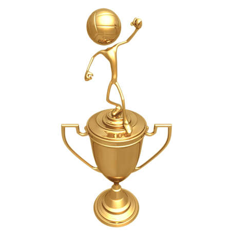 Volleyball Sport Trophy Stock Photo - 501679