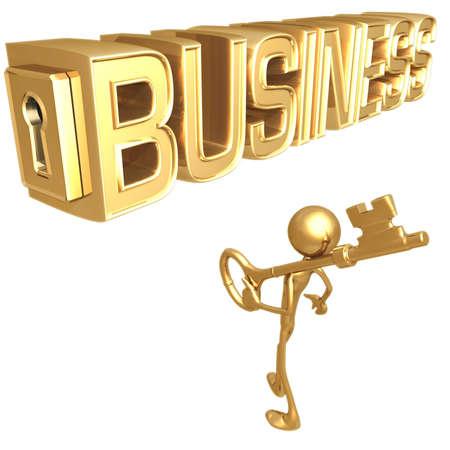 Key to Business Stockfoto