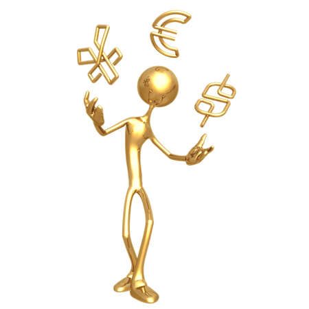 idioms: Paperclip Currency Juggle