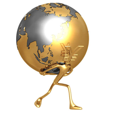 World Currency Yen photo