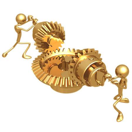 idioms: Teamwork Gears