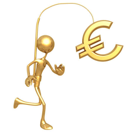 Tempting Reward Euro Stock Photo - 817170