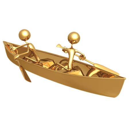 rowboat: Teamwork Rowing