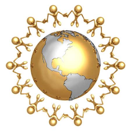 la union hace la fuerza: Unidad Mundo
