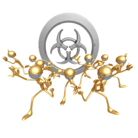 threat: Bio Threat Fear Stock Photo