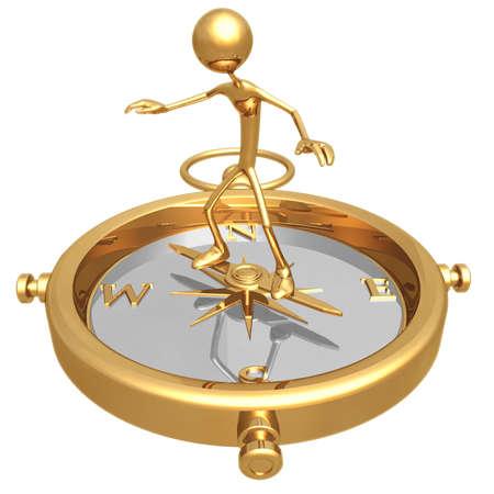 Compass Balance Reklamní fotografie - 820588