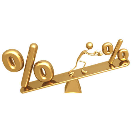 owe: APR Balance Stock Photo