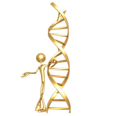 icon idea idiom illustration: Presenting DNA