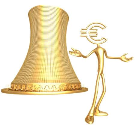 Nuclear Euro Stock fotó - 820715