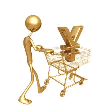 Shopping Cart Yen