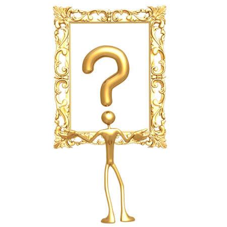 Question Art Reklamní fotografie