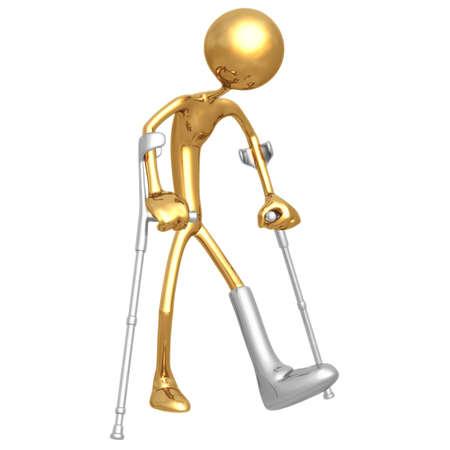 Crutches Stock Photo - 820895