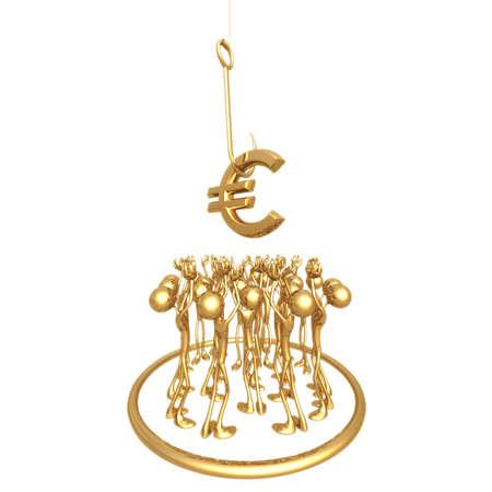 Crowd Sourcing Euro Stock Photo - 820905