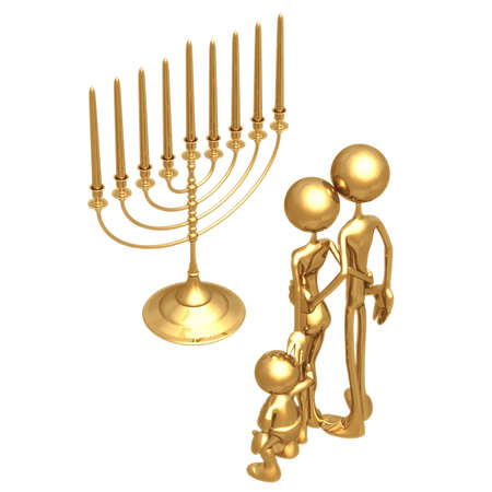 Menorah Stock Photo - 821025