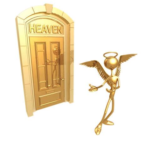good judgment: Heaven Door