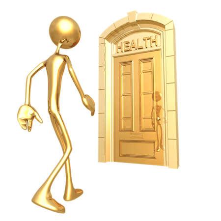 Health Door 版權商用圖片