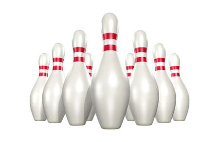 Bowling 3D Stock Photo - 821112