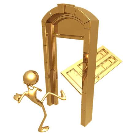 idioms: Kicked In Door