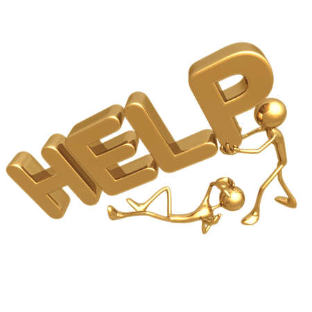 icon idea idiom illustration: HELP