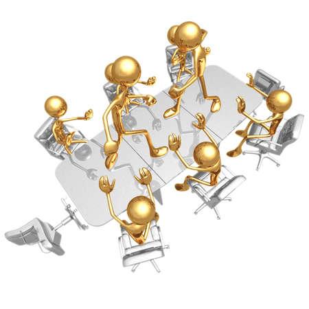 Vergadering Conflict