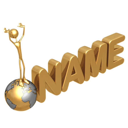 NAME Stock Photo - 818677