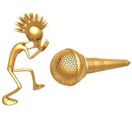entertaining presentation: Punk Microphone