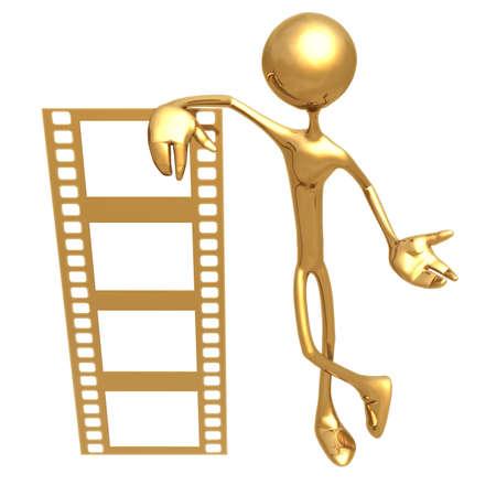 icon idea idiom illustration: Filmstrip Frame