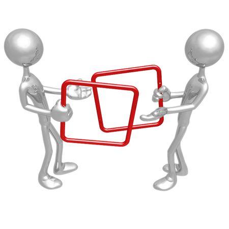 正方形の貿易