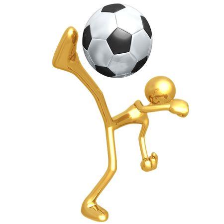 Soccer Football Banco de Imagens - 4355579
