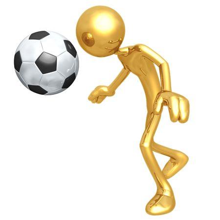 Soccer Football Banco de Imagens - 4355799