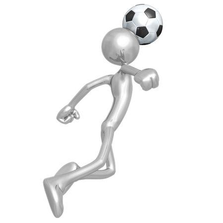 Soccer Football Banco de Imagens - 4380075