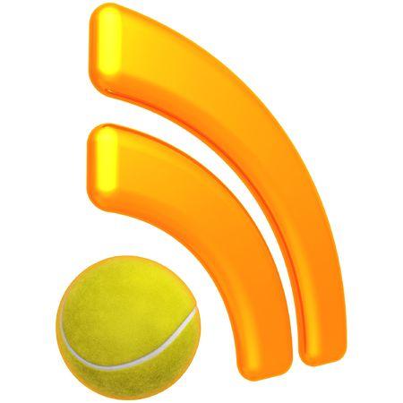 RSS Tennis Feed Standard-Bild