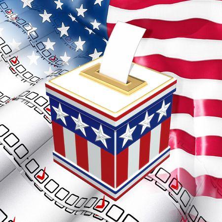 Election Voting Stock Photo