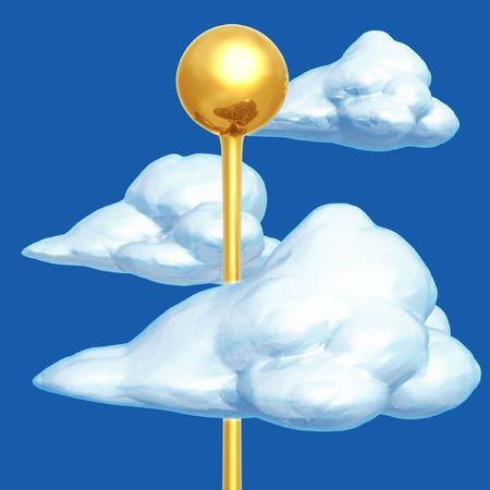 Head In The Clouds Stok Fotoğraf