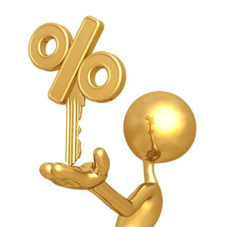 Golden Percentage Key