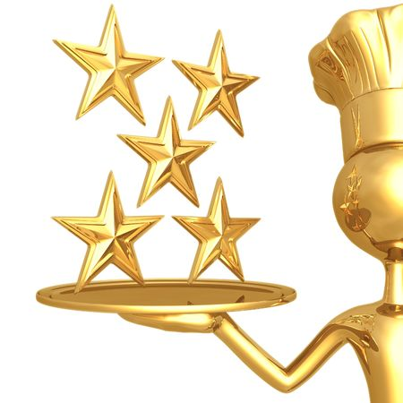5 성급 레스토랑 등급