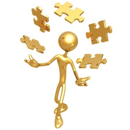 Juggling Puzzle Pieces