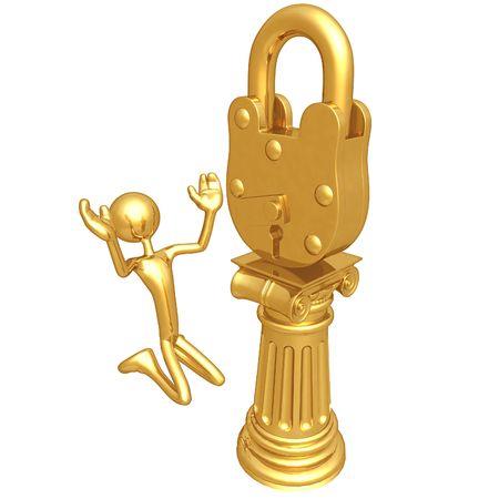 Lock Idol Фото со стока