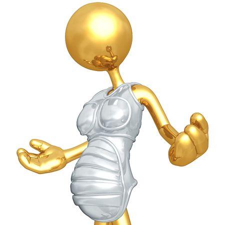 Pregnancy Sympathy Suit Banco de Imagens