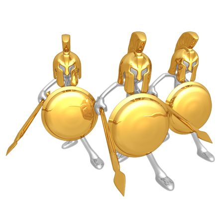 Spartans Stock Photo